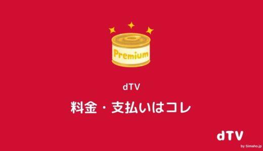 ディーティーブイ(dTV)月額料金支払いガイド:請求タイミングは?
