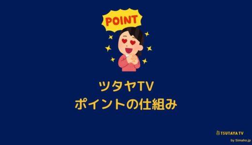 ツタヤTVの動画視聴ポイントとは?Tポイントも使えるのマジ?